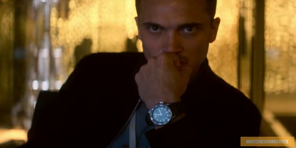 Karl Glusman devs watches in movies